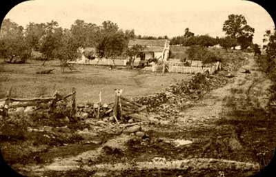 The Lydia Leister farm, 1863